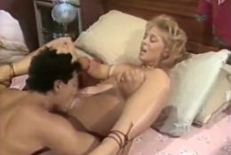 Licks pussy young Nina Hartley