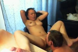 Eating Chinese Pussy to orgasm